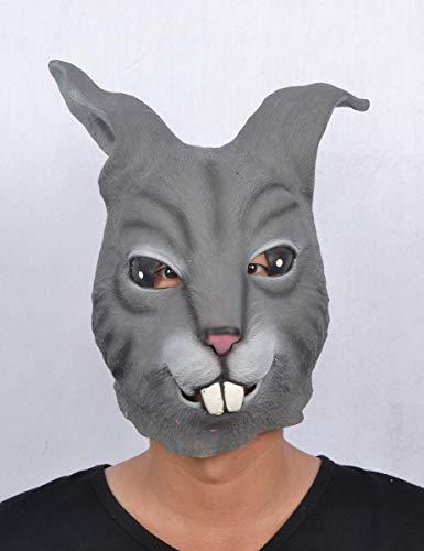 Generique - Realistisch wirkende Kaninchenmaske für Erwachsene