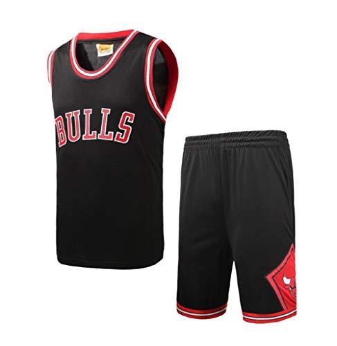 XYYMC Summer Jerseys Basket Maglie Uniforme Top E Shorts Tuta da Basket Maschile, Nessun Numero (S-XXXL)