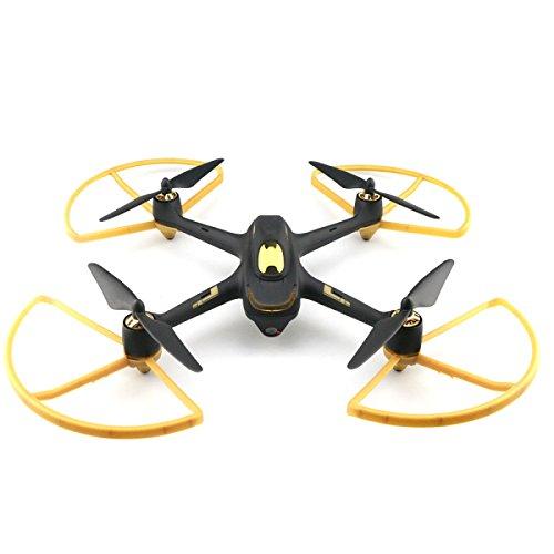Hubsan Original H501S H501C X4 RC Quadcopter Drone Ersatzteile Verbesserte Propeller Protector Schutzabdeckung (Gold)