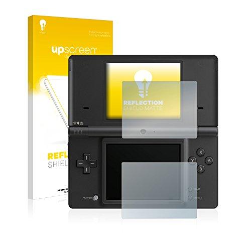 upscreen Entspiegelungs-Schutzfolie kompatibel mit Nintendo DSi - Anti-Reflex Displayschutz-Folie Matt