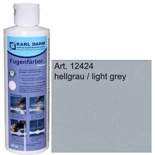 Fugenfärber für frische saubere Fugen, verschiedene Farben zur Fugenreparatur, Colorieren und Versiegeln, 12424 (hellgrau)