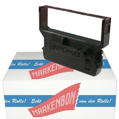 Farbbandkassette passend für Citizen H 7360-02 [violett] markenbon IR 61 P (1 Karton mit 5 Stück)