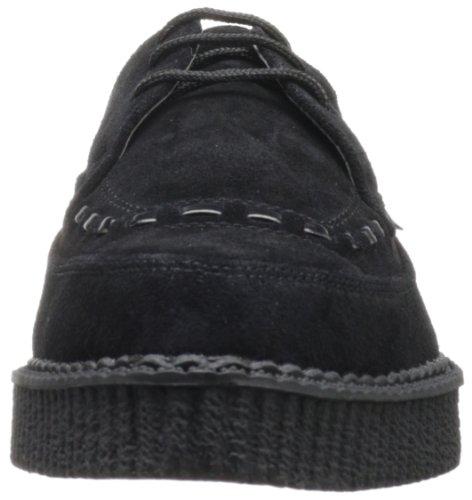 T.U.K A8138 Pointed Creeper, Unisex - Erwachsene Schnürhalbschuhe Schwarz (Black)