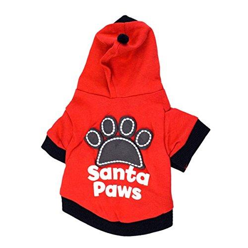 Haustier Hund Welpe Pet Schädel Muster Hunde Hundemantel-Jacke Hoodie Pullover mit Kapuze Fashion Pet Warm Sweatshirts Overalls Bekleidung S 226 Verkleidung