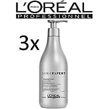 L  Oréal Serie Expert Silver Shampoo Confezione da (3 X 500ml) cefcb8a9bc3d