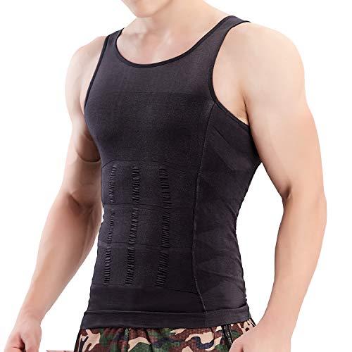 VENI MASEE Mens Schlankheits Body Shaper Weste Shirt ABS Bauch ()