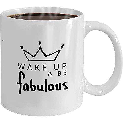 Taza de porcelana, taza de café divertida, regalos de novedad, taza de té de cerámica 1 Atrapasueños Plumas de colores brillantes que se balancean Han 11 Oz, taza de desayuno blanca