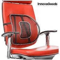 InnovaGoods IG811716 - Respaldo lumbar portátil transpirable