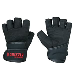 Grizzly Fitness Power Paw Wrist Wrap Training Gloves, X-Large