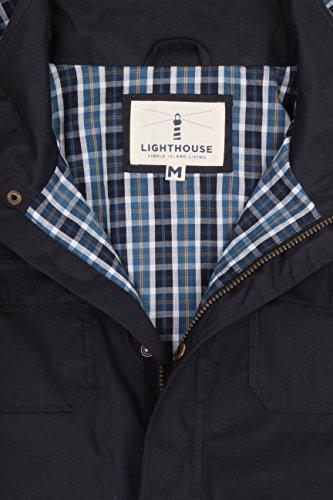 Lighthouse Rigger Herren Wasserfester Mantel Tinte