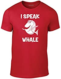 Brand88, I Speak Whale, Adult fashion tee