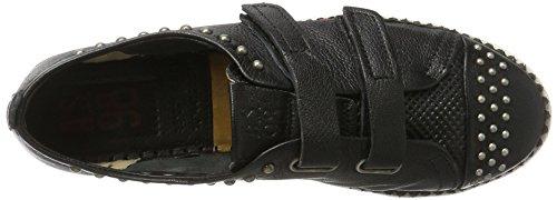 A.S.98 Damen Similar Sneaker Schwarz (Nero)