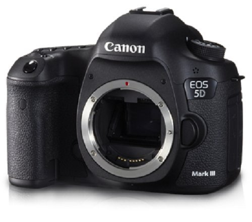 Canon EOS 5D Mark 3 22.3MP Digital SLR Camera (Black) with Body Only