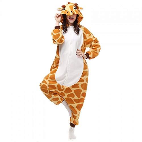Für Erwachsene Giraffe Pyjama Kostüm - DUKUNKUN Erwachsene Pyjamas Giraffe Pyjama Kostüm