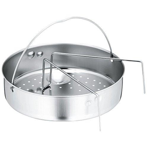 WMF 789426030 - Portacomidas bajo para olla rápida, calado y puente, diámetro de 22 cm, 1,7 litros