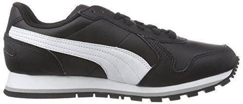 Puma - St Runner Full L, Sneakers, unisex Nero (Schwarz (black-white 01))