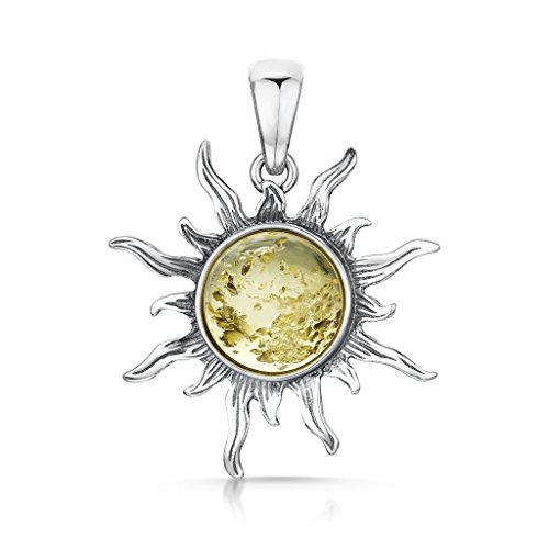Amberta 925 Sterling Silver with Baltic Amber xIn6PN3Cn