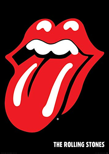 GB eye, The Rolling Stones, Lips, Maxi Poster, 61x91.5cm