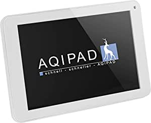 AQIPAD 17,8 cm (7'') Tablette Tactile (Rockchip RK3066 ARM Cortex-A9, Dual-Core, 1,2GHz, 512MB RAM, 8Go SSD, Android Ecran tactile) Blanc (Import Europe)