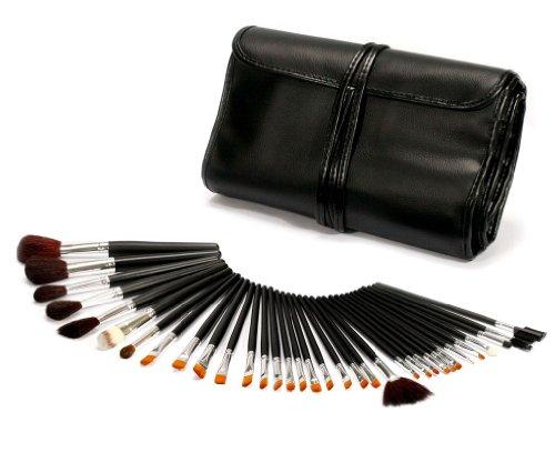 34 PCS Pinceaux Cosmétiques/Trousse à Maquillage Professionnel/Makeup Pinceaux Set