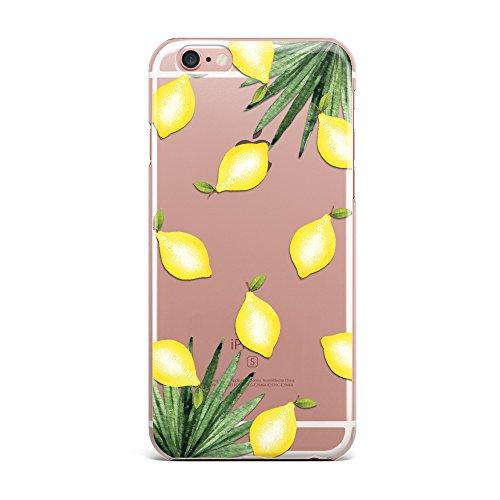 Blitz® PIZZA motifs housse de protection transparent TPE iPhone avocat M3 iPhone 7 citrons M7