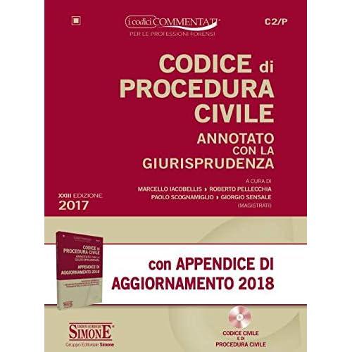 Codice Di Procedura Civile Annotato Con La Giurisprudenza-Appendice Di Aggiornamento 2018. Con Cd-Rom