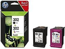HP 302- Pack de 2 cartuchosde tinta negro y tri-color