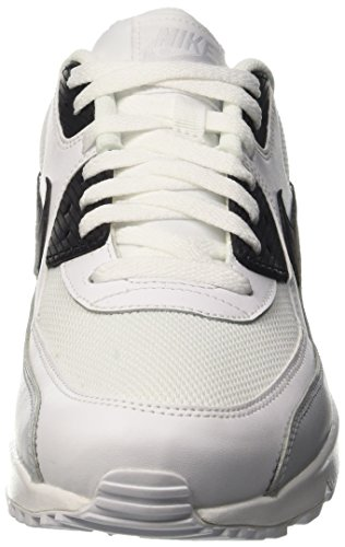 new arrival 40438 bcde7 Nike Air Max 90 Essential, Chaussures de Running Entrainement Homme  Multicolore (White Black ...