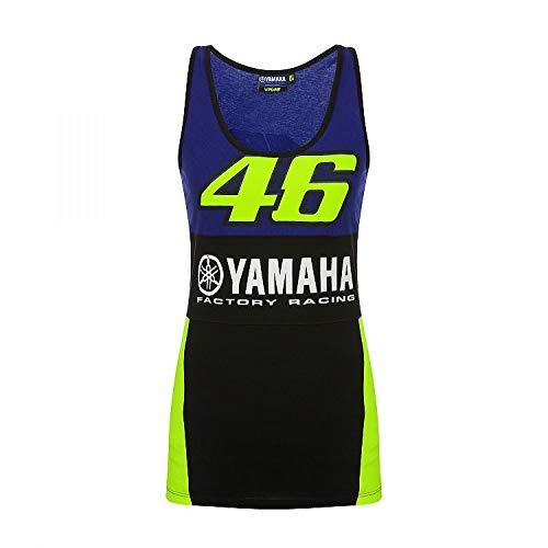 Valentino Rossi VR46 MotoGP M1 Yamaha Racing Team Damen Tank Top Offiziell 2019