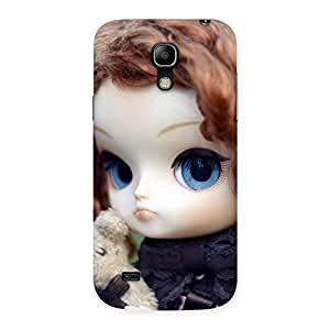 Delighted Hugging Teddy Doll Multicolor Back Case Cover for Galaxy S4 Mini