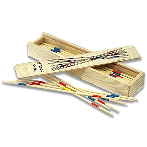 HC-Handel 910093 Mikado in Holzbox 19 x 4 x 2,5 cm Holz
