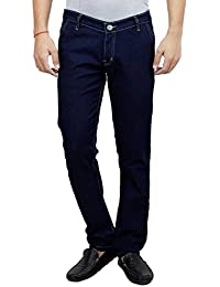 ANSH FASHION WEAR Men's Jeans - Contemporary Regular Fit Denims For Men - Washed Mid Rise Comfortable Jeans -... - B06XXF7MZG