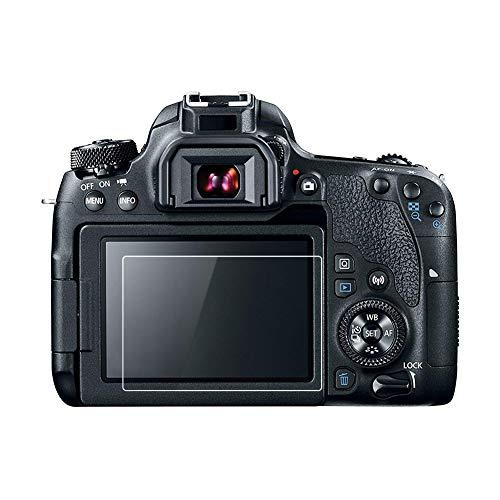 Kinokoo Película Vidrio Templado Canon EOS 70D/77D/80D/700D/750D/760D/800D