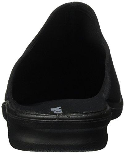 ROMIKA Präsident 445, chaussons d'intérieur homme Noir (Schwarz)