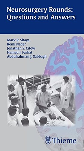Neurosurgery Rounds: Questions and Answers: Questions and Answers
