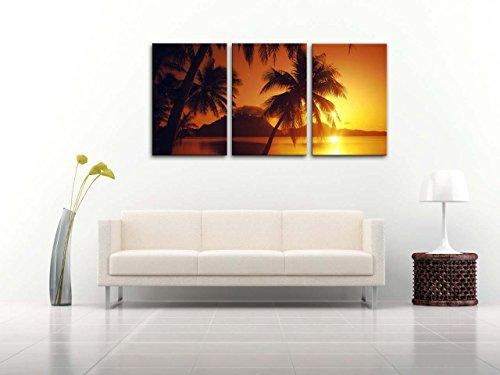 Lienzo-Pintura-para-Decoracin-del-hogar-Playa-al-atardecer-en-Bora-Bora-Tahiti-Borabora-Puesta-de-sol-en-paisaje-marino-de-la-Polinesia-francesa-de-Brilliant-Ocano-Playa-Amanecer-con-Tropical-Palmeras