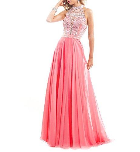 Bridal_Mall - Robe de mariage - Trapèze - Femme Rose - Corail
