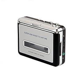 InVaFoCo Kassettenspieler, Tragbare Tape Player Captures MP3 Audio Musik über USB, Kompatibel mit Laptops und Personal Computer Convert Walkman Tape Kassetten auf iPod Format