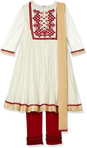 Karigari Girls' Straight Regular Fit Salwar Suit (274389391_Assorted_08Y)