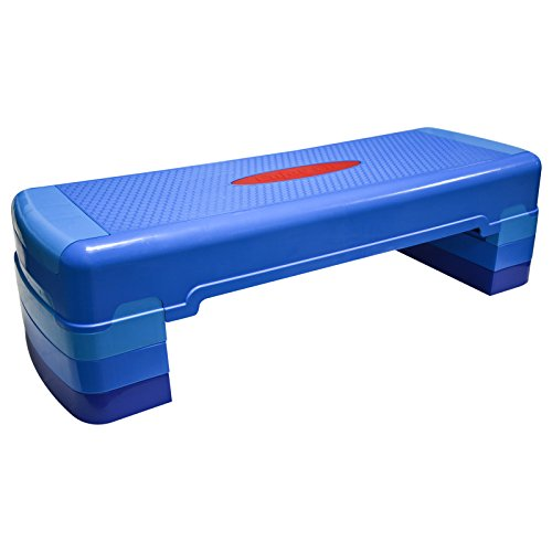Hansson.Sports Fitness Aerobic Steppbrett 90x32cm 3-Fach-verstellbar
