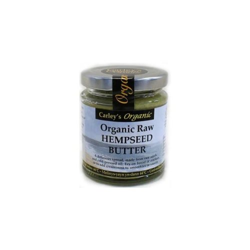 Carley's Organic Raw Hemp Seed Butter 170g (Pack of 1)