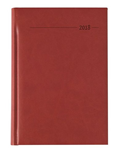 Daily Diary Tucson 201815x 21cm red