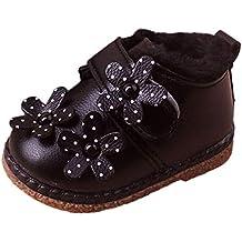 ... promociones más. ❤ Botas de Nieve para niñas, Bebé Infantil Niños pequeños Chicos Flor Invierno Cálido