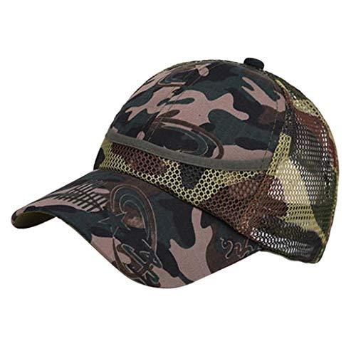 0d98142a2e23 loviver de béisbol sombrero de sol de camuflaje casual al aire libre  militar s2