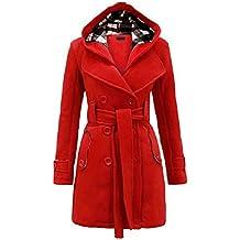 low priced 82626 ef55b Suchergebnis auf Amazon.de für: Damen mantel rot kapuze ...