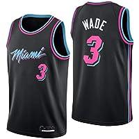 CRBsports Dwyane Wade, Baloncesto Jersey, Miami Heats, Tejido Bordado, Swag, Ropa