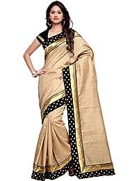 EthnicJunction Women's Banarasi Silk Saree With Blouse