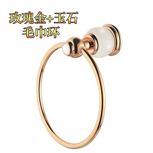 KYKDY High-Grade-Kupfer-Jade-Serie europäischen Handtuch Handtuchhalter, Handtuchhalter WC Badezimmer Zubehör, ich -