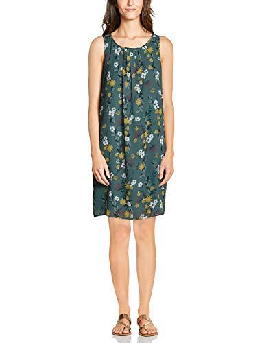 Cecil Damen 142488 Kleid, Mehrfarbig (sage Green 31893), Small (Herstellergröße:S) (Frauen Für Blumen-print-kleid)