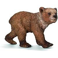 Schleich 2514687 Orso Grizzly (Dipinto A Mano Orso)